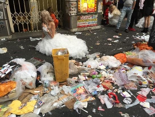 【終了】2019年11月1日(金)ハロウィン翌朝タウンクリーン@渋谷センター街