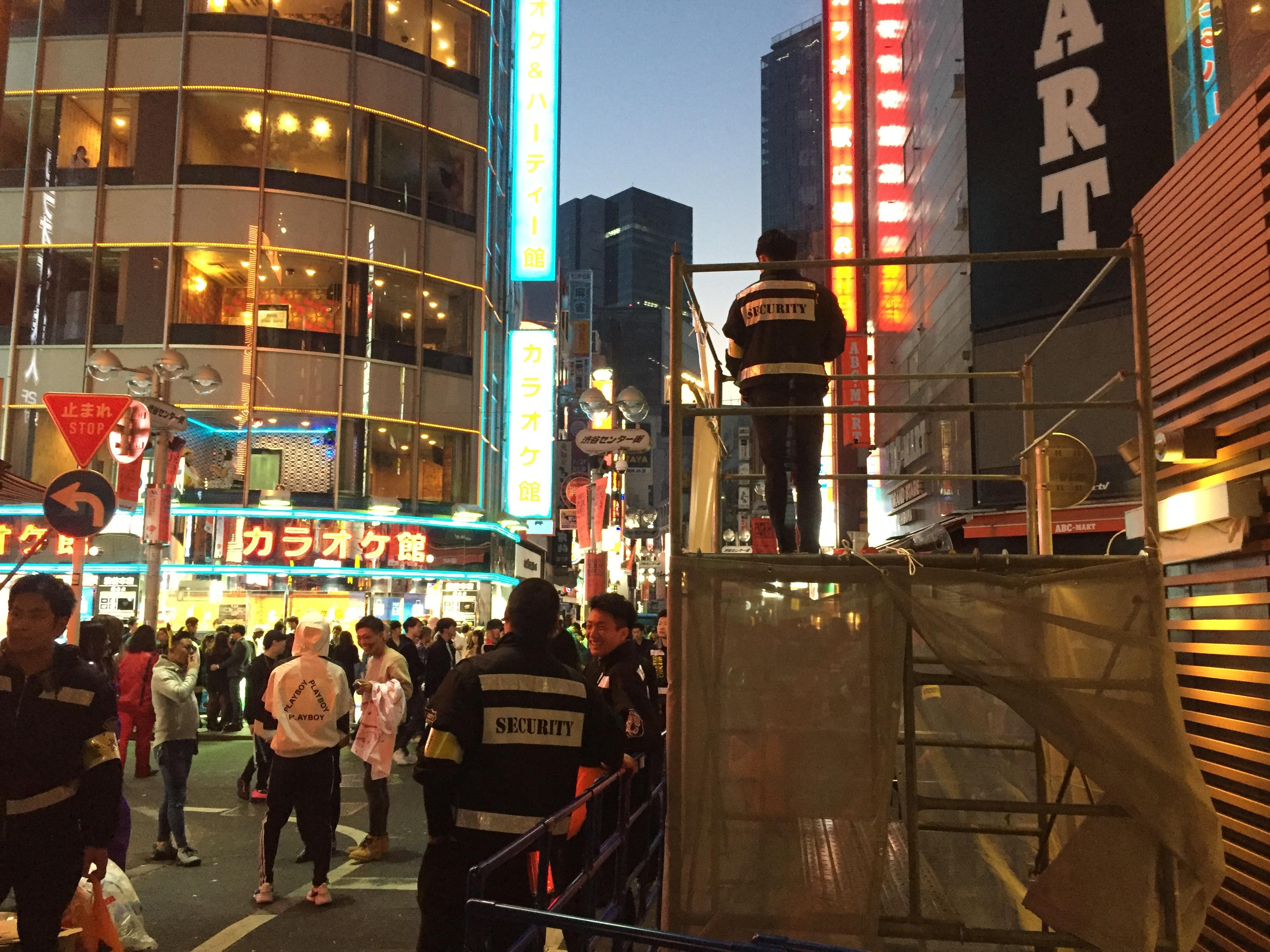 2019年11月1日(日)ハロウィン翌朝リサーチ@渋谷センター街