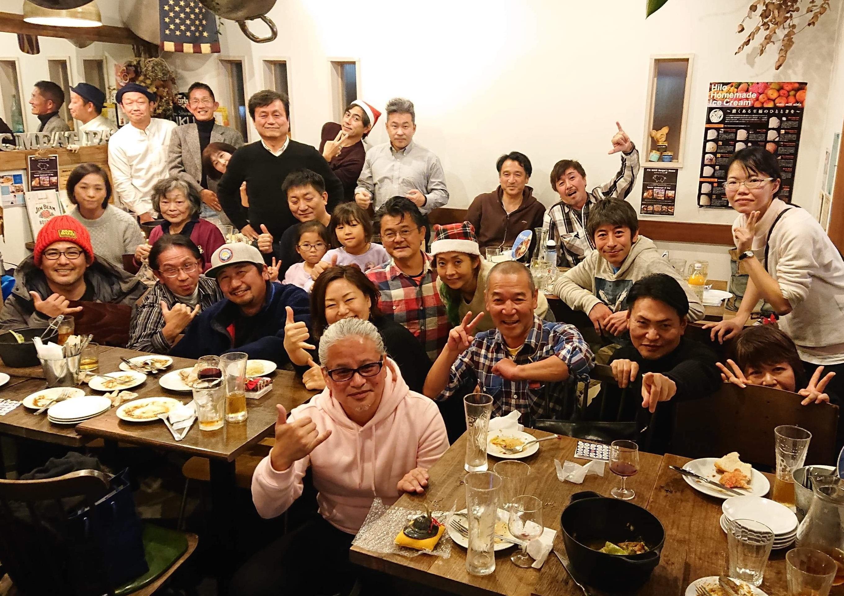 2019年12月21日(日) 湘南クリーンエイドフォーラム忘年会
