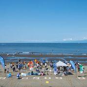 2020年8月2日(日)第55回調べるビーチクリーン@片瀬西浜with湘南ビジョン研究所