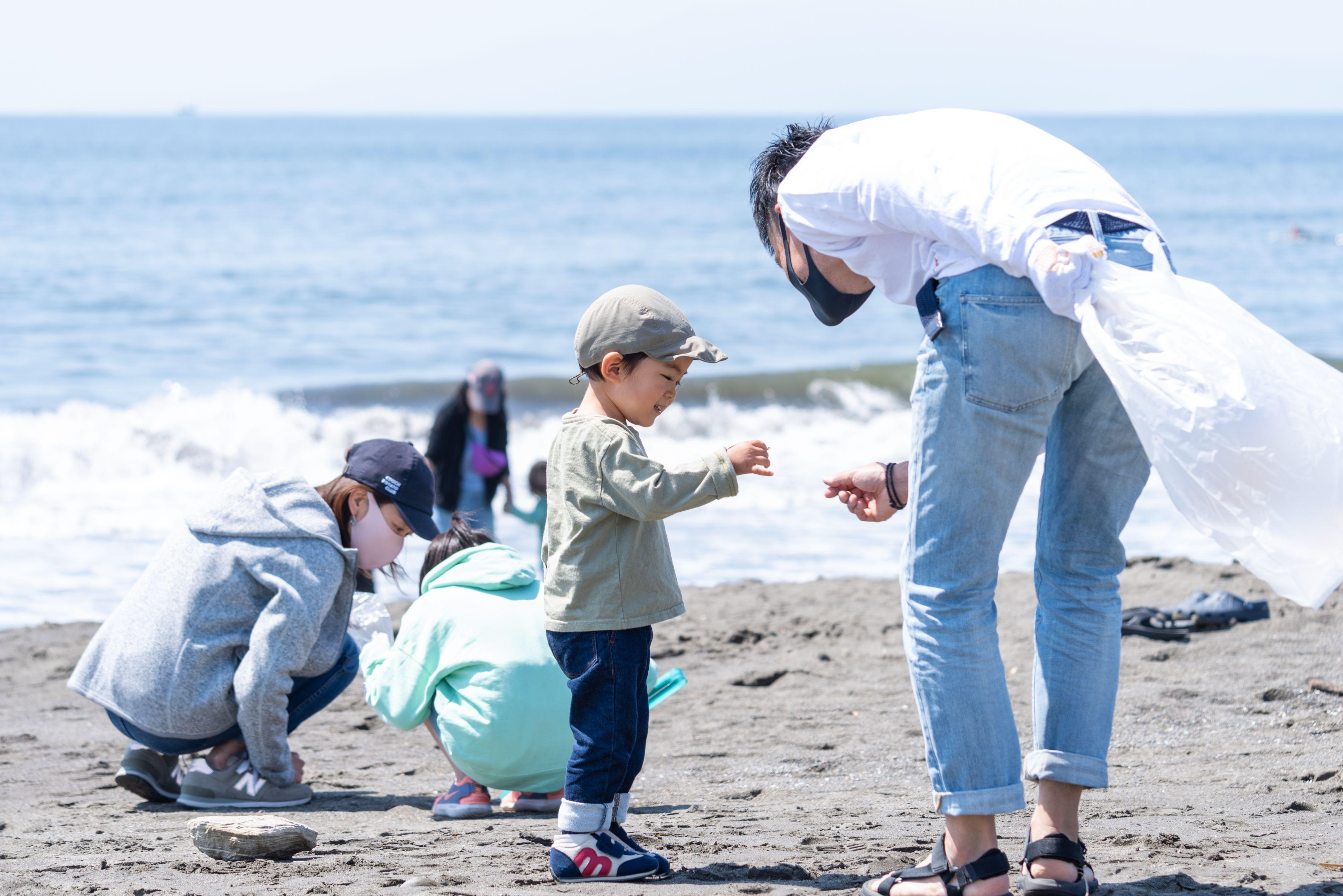 2021年5月8日(土)第65回調べるビーチクリーン@辻堂海岸