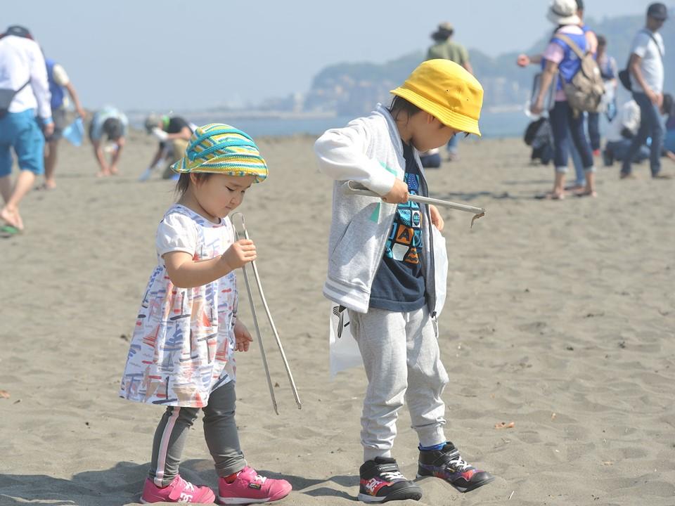 2021年7月11日(日)第67回調べるビーチクリーン@辻堂海岸