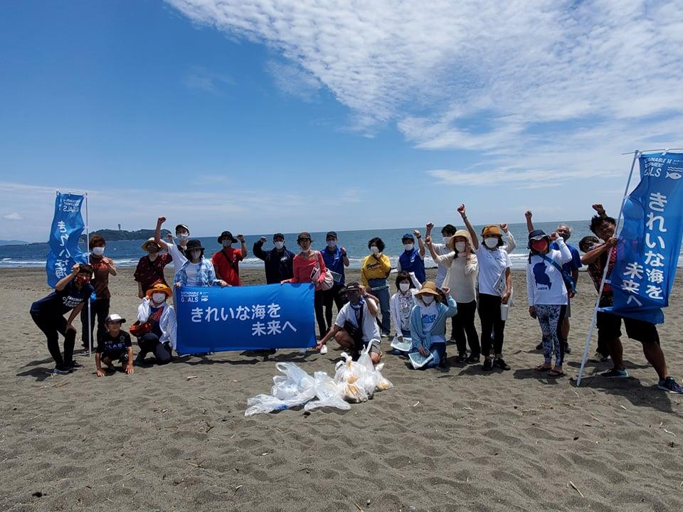 2021年6月12日(土)第66回調べるビーチクリーン@辻堂海岸