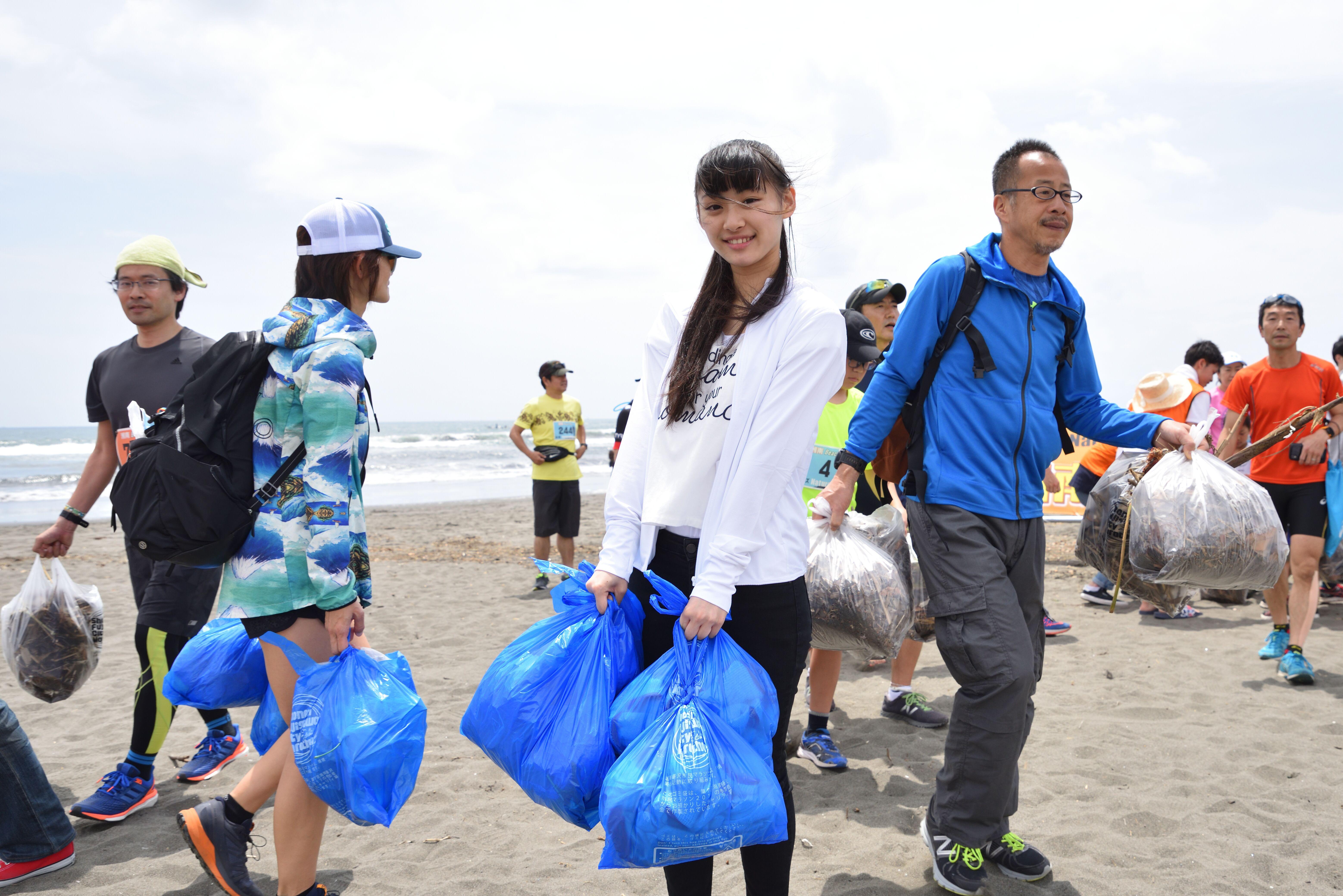 2021年8月8日(日)第68回調べるビーチクリーン@辻堂海岸