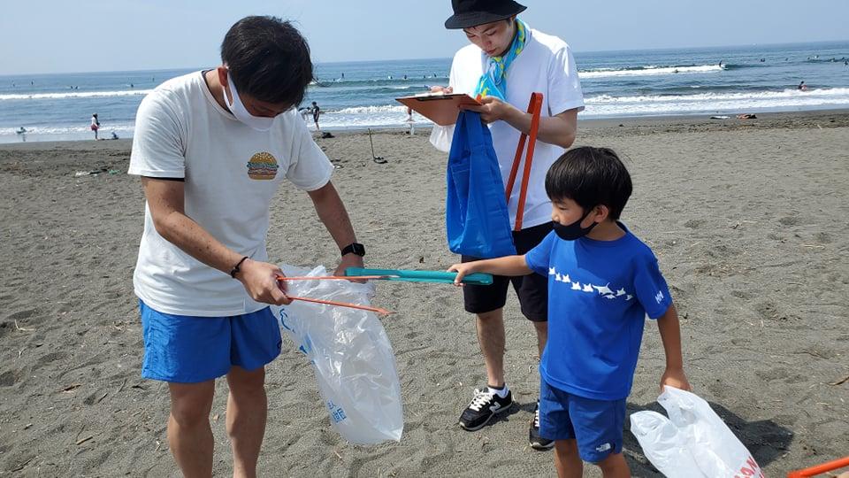2021年9月25日(土)第69回調べるビーチクリーン@辻堂海岸